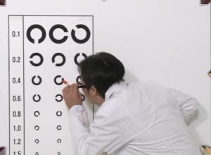 陣内智則「視力検査」11